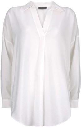 Mint Velvet White Oversized Shirt