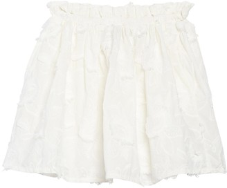 Do & Be Embroidered Mini Skirt