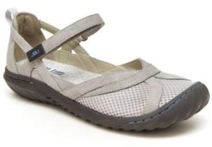 JBU Women's Marina Casual Mary Jane Flats Women's Shoes