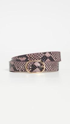 B-Low the Belt Emmie Mini Python Belt