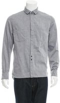 Yigal Azrouel Herringbone Button-Up Shirt
