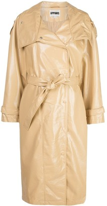 Apparis Laily wing collar trench coat
