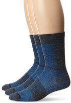 Wrightsock Men's Merino Coolmesh II Crew 3 Pack