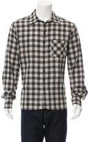 Rag & Bone Woven Plaid Shirt