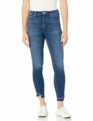 Jag Jeans Women's Viola High Rise Skinny with Hem Detail Jean