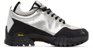 ROA Silver Zoomi Lux Neal Sneakers