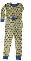 New Jammies Green Fishing Bears Organic Cotton Sleepwear Set - Infant