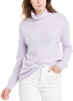 Magaschoni Funnel Neck Cashmere Sweater