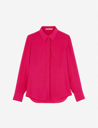 Stella McCartney Button-up crepe de chine shirt