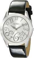 XOXO Women's Dial Patent Strap Watch XO3177