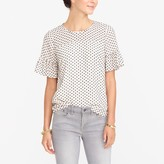 J.Crew Factory Black And White Clip Dot