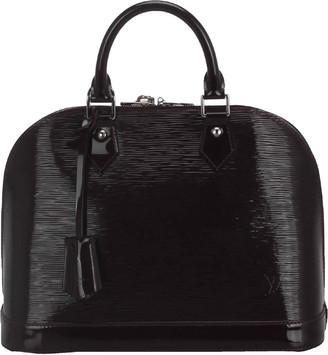 Louis Vuitton Brown Electric Epi Alma PM Bag