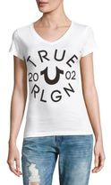 True Religion Logo-Print Cotton Tee