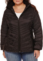 Xersion Packable Puffer Jacket-Plus