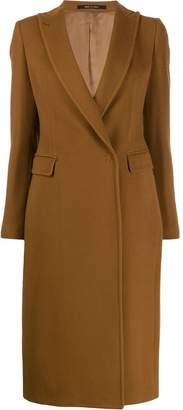 Tagliatore concealed front coat