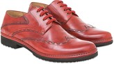 Pakerson Red Cortona Derby Shoes