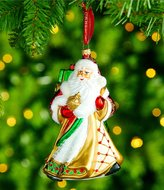 Waterford 2017 Holiday Heirlooms Nostalgic Miraculous Santa Ornament