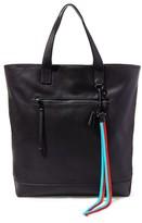 Steve Madden Men's Gq X Leather Tote Bag - Black