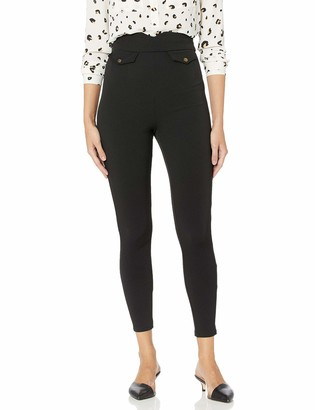 BCBGeneration Women's HIGH Waisted Tapered Knit Pant