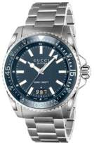 Gucci Dive Blue Steel Watch