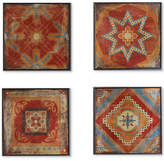 Madison Park Moroccan Tile 3-Pc. Gel-Coated Deco Box Print Set