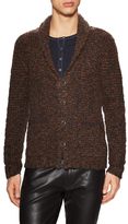 John Varvatos Wool Shawl Collar Sweater