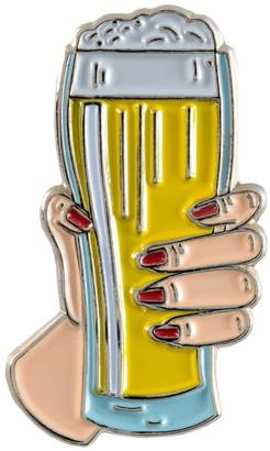 Make Heads Turn Enamel Pin Beer