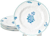 One Kings Lane Vintage Spode Hors d'Oeuvres Plates, S/6