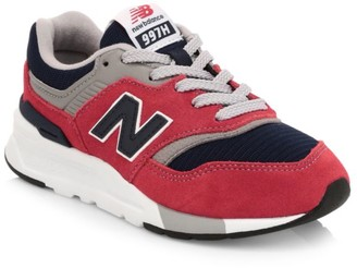 New Balance Kid's 997H Suede & Mesh Sneakers