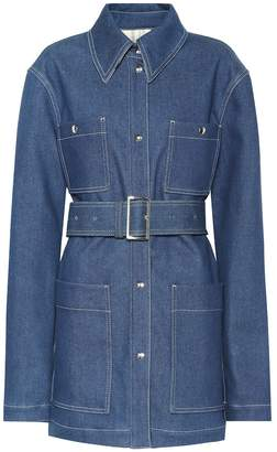 Acne Studios Belted denim jacket