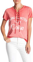 Freeze Coca-Cola Lace-Up Graphic Tee