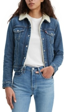 Levi's Women's Original Sherpa Trucker