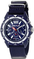 Sector Men's R3251197029 EXPANDER Analog Display Quartz Blue Watch
