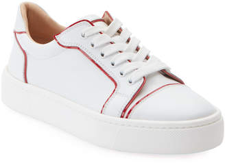 Christian Louboutin Vieirissima Flat Red Sole Sneakers