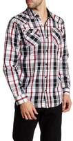 Burnside Joany Long Sleeve Regular Fit Plaid Shirt