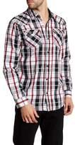 Burnside Joany Regular Fit Plaid Shirt