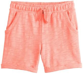 Toddler Girl Jumping Beans Slubbed Shorts