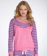 Honeydew Intimates Burnout French Terry Knit Sweatshirt