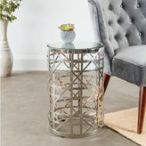 Everly Lauver Cylinder Side Table Quinn