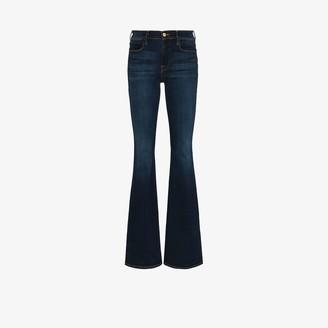 Frame Le High high waist flared jeans