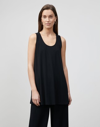Lafayette 148 New York Plus-Size Fielding Tank In Midweight Matte Jersey
