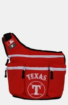 Diaper Dude Infant 'Texas Rangers' Messenger Diaper Bag - Red