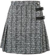 Alexander McQueen A-line mini skirt - women - Cotton/Wool/Polyimide/Viscose - 38