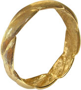 One Kings Lane Vintage Givenchy Textured Gold-Plated Bangle