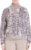 Basler Women's Graphic-Print Cardigan