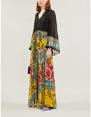 Etro Wiltshire floral-print silk-blend dress