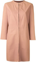 Drome single breasted coat - women - Lamb Skin - L