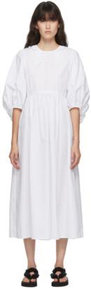 Cecilie Bahnsen White Mette Dress