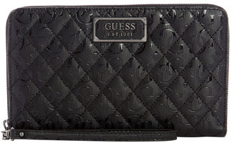 GUESS SM787460BLA Lola Zip Around Wallet