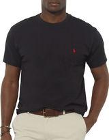 Polo Big And Tall Classic-Fit Pocket Crewneck Tee